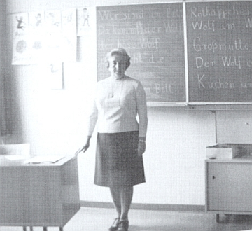 """Roku 1964 po vysídlení z """"ČSSR"""" začínala znovu učit v Rundingu"""