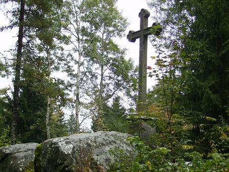 Kříž u Maria Rast