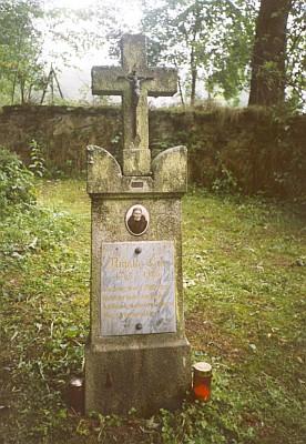Babiččin hrob v Českých Žlebech
