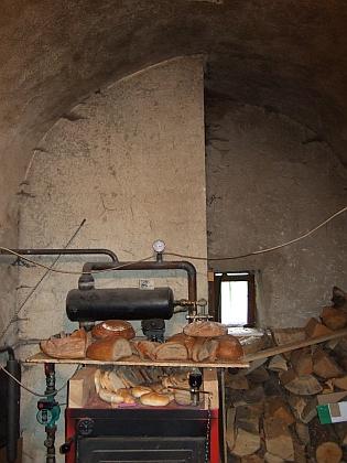 Někdejší černá kuchyně v domě čp. 4 - současný majitel domu se s Fridrichem Talirschem osobně setkal