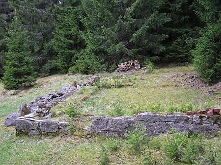 Dva záběry ze zaniklé Schätzovy Mýtě