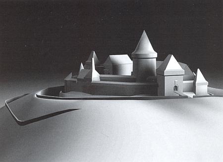 Rekonstrukce podoby hradu Nové Hrady v 16. století na 3D modelu Zlaty Gersdorfové z roku 2011