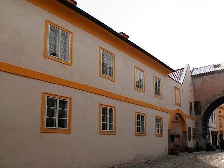 Rodný dům čp. 67 na českokrumlovském Latráně