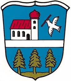 Znak bavorského města Wegscheid, jehož je Thalberg součástí