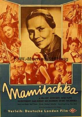 Dva plakáty k filmu Mamitschka