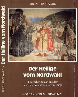 Jeho román o sv. Vintíři vydaný v nakladatelství Morsak v Grafena (1990) má na obálce reprodukci obrazu zjídelny maďarského kláštera Bákonybél, který světec založil, ...
