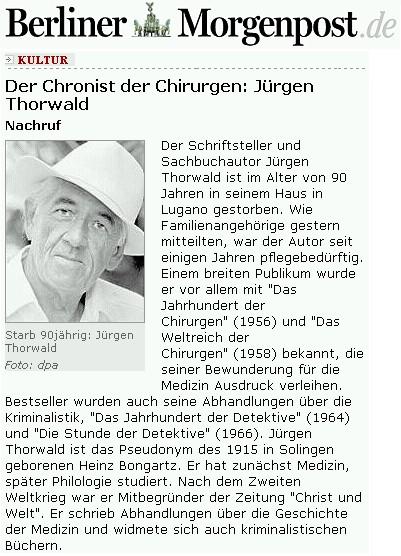 Nekrolog v Berliner Morgenpost
