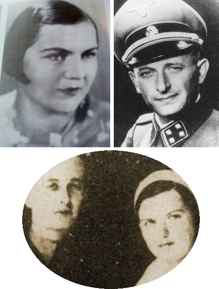 """Tyto a další fotografie nemají přímé spojení s Jürgenem Thorwaldem ani Ktiší. """"Jenom"""" snad s válkou astím, že ve městě Solingen se (stejně jako Jürgen Thorwald) narodil roku 1906 válečný zločinec Adolf Eichmann, popravený v roce 1962 vIzraeli. Iuněj však můžeme najít """"šumavské"""" souvislosti a proto jej v Kohoutím kříži tímto způsobem zmiňujeme:     Eichmann měl za ženu Veroniku Lieblovou z Mladého (Lodus) u Českých Budějovic."""