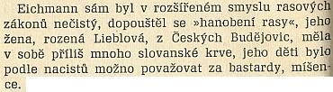 Zajímavá pasáž z knihy Ladislava Mňačka Já, Adolf Eichmann (1961)