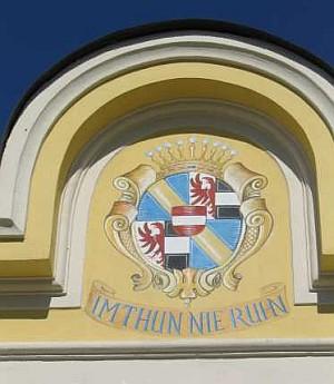 Znak Thunů na zámku ve Zdíkově