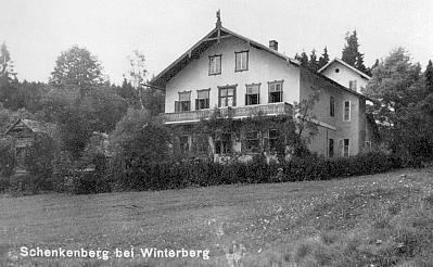 Schenkenberg kdysi