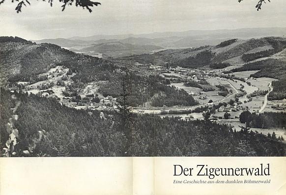 """Obálka a titulní list obnoveného vydání jeho románu z """"temné Šumavy"""" (1987) vydaného nakladatelství Glaube und Heimat"""