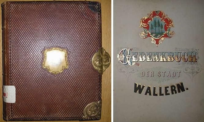 Jedním z nejslavnějších momentů v dějinách města Volary, jehož pamětní knihu zdobí honosné desky a neméně honosně zdobený titulní list, byl bezpochyby 17. červenec roku 1871, kdy je navštívil habsburský korunní princ Rudolf a doložil to svým podpisem