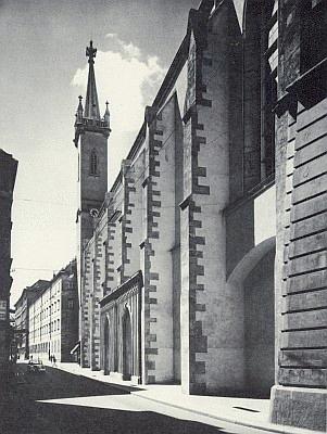 Tady ve vídeňském klášteře sv. Augustina je pochován