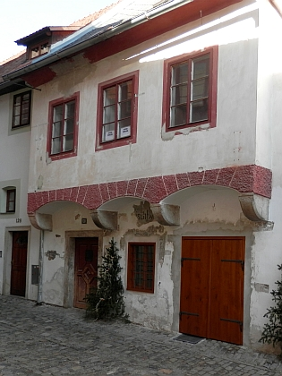 Rodný dům čp. 130 v českokrumlovské Masné ulici