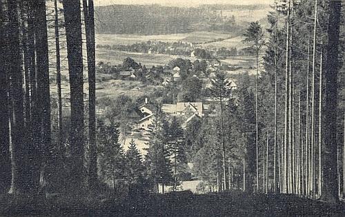 Rodná Lísková zcela zanikla včetně české celnice na kdysi živé obchodnícestě