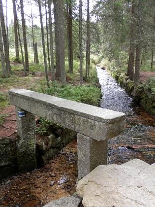 První přítok do kanálu - Světlý potok