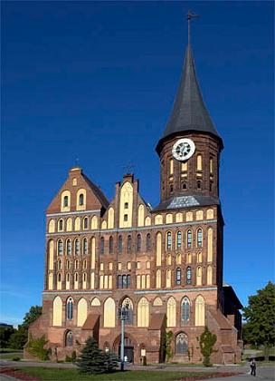 Katedrála sv. Vojtěcha a Nejsvětější Panny Marie v jeho rodném Královci (Königsberg, dnes Kaliningrad), městě, založeném křižáky na počest českého krále Přemysla Otakara II. (viz Wikipedia)