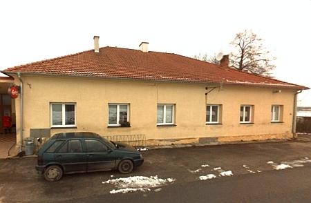 Někdejší škola v Hranicích