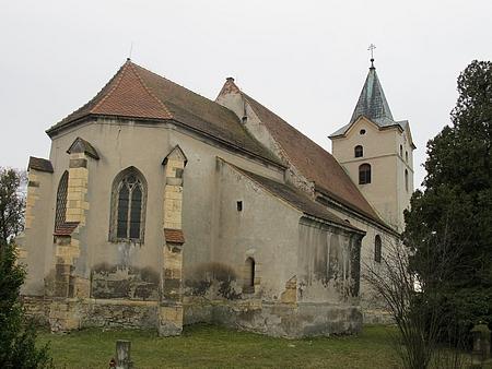 Kostel sv. Vavřince v rodné Havrani