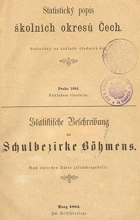 Jména jeho děda a otce při záznamu o škole v Polné na stránkách popisu školních okresů Čech z roku 1884