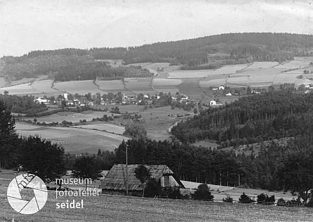 Libínské Sedlo na snímku Josefa Seidela