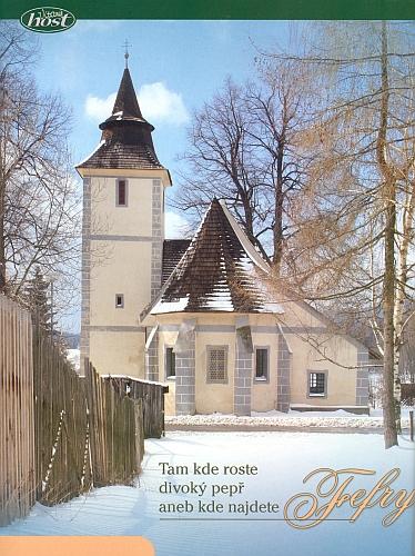 Záhlaví článku o starých Fefrech ve vánočním čísle časopisu Vítaný host z roku 2009