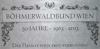 V roce jejího úmrtí oslavil vídeňský Böhmerwaldbund 50 let své existence