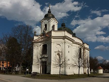Kostel Panny Marie Bolestné v Dobré Vodě u Českých Budějovic