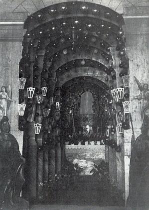 Boží hrob v hornonýrském kostele sv. Tomáše