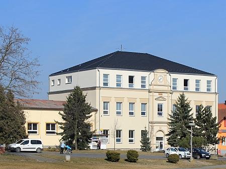 Někdejší německá škola v Heřmanově Huti - Vlkýši