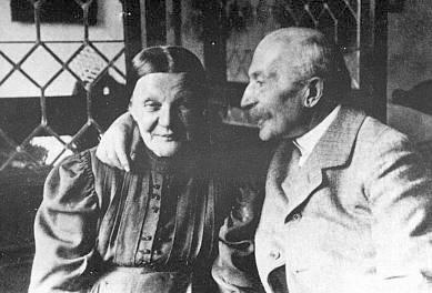 Rodiče Johann a Anna Steinbrenerovi