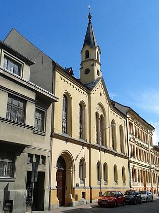 Evangelický kostel v dnešní ulici 28. října (viz i Maria Wicpaleková)