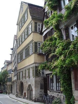 Jeho rodný dům v Tübingen, Neckarhalde čp. 24