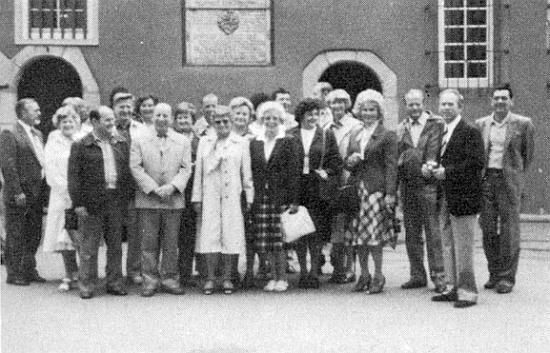 Se spolužáky z Loučovic roku 1981 v Schorndorfu