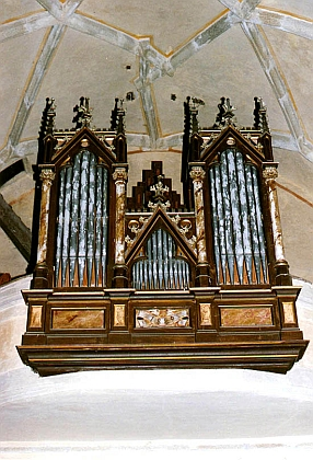 Zátoňské kostelní varhany
