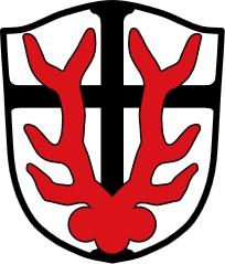 Znak švábské obce Ederheim, kde skonal on i jeho rodiče