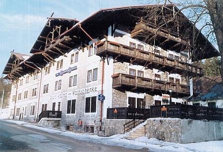 Dům čp. 55 v Loučovickích - Svatém Prokopu (do února 2019 hotel Lesní krčma)