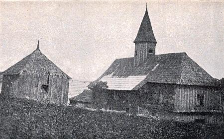 Starý farní kostel se zvonicí z roku 1595 v rodné Zálesní (Záleské) Lhotě, zasvěcený Ullwerovu patronovi sv. Janu Nepomuckému...