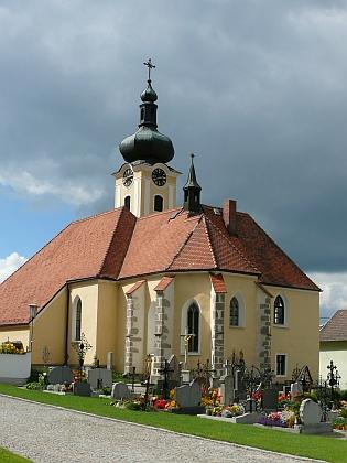 Farní kostel sv. Jiří v Leopoldschlagu