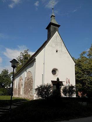 """""""Martinskirche"""" v Linci..."""
