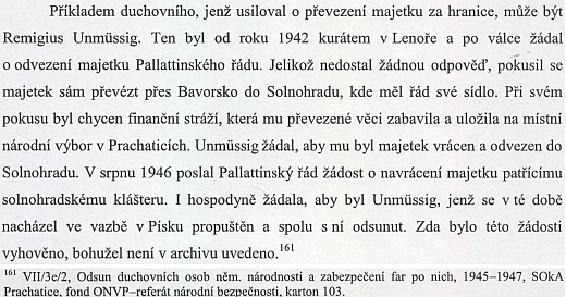 Z diplomové práce na Západočeské univerzitě v Plzni