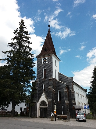 Kostel sv. Štěpána na Kvildě, jeho první šumavské působiště