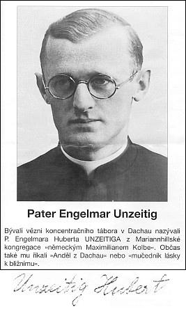 Titulní list prospektu  (1992) na české vydání jeho životopisu