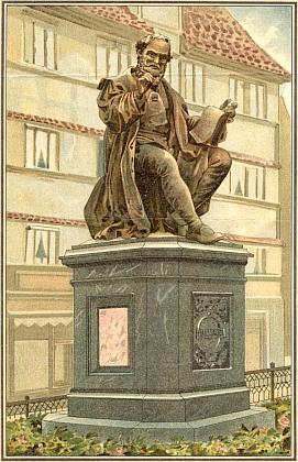 Památník Hanse Sachse v Norimberku