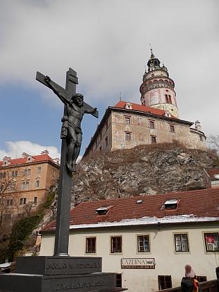 Pohled na zámek z Lazebnického mostu