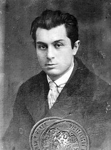 Pražský snímek z mladých let