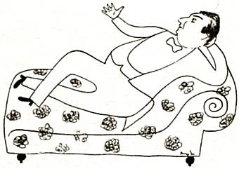 Na kresbě Františka Muziky