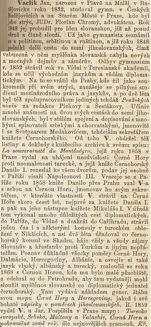 Autorem rozsáhlého hesla o něm v Riegrově slovníku naučném není nikdo jiný než Karel Kramář