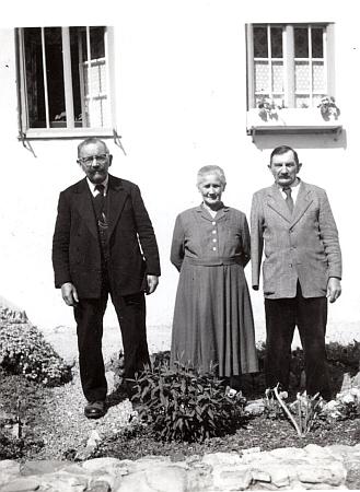 S prarodiči Ludwiga Bürgera Annou a Josefem